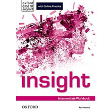 Insight Intermediate - Workbook + Online Practice - Ed. Oxford