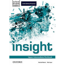 Insight Upper-Intermediate - Workbook + Online Practice - Ed. Oxford