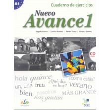 Nuevo Avance 1 - Cuaderno de ejercicios + CD - Ed. Sgel