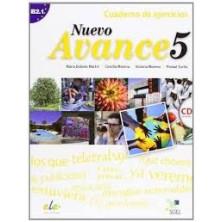 Nuevo Avance 5 - Cuaderno de ejercicios + CD - Ed. Sgel