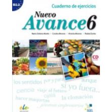 Nuevo Avance 6 - Cuaderno de ejercicios + CD - Ed. Sgel