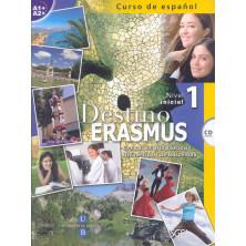 Destino Erasmus Inicial - Libro del alumno + ejercicios + CS - Ed. Sgel