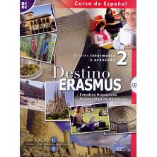 Destino Erasmus Intermedio - Libro del alumno + ejercicios + CS - Ed. Sgel