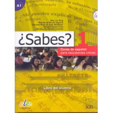 ¿Sabes? 1 - Libro del alumno + CD - Ed. Sgel