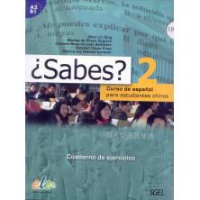 ¿Sabes? 2 - Libro de ejercicios + CD - Ed. Sgel