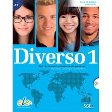Diverso 1 - Libro del alumno + ejercicios + CD - Ed. Sgel