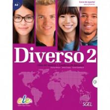 Diverso 2 - Libro del alumno + ejercicios + CD - Ed. Sgel