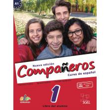 Compañeros 1 (nueva edición) - Libro del alumno + Licencia digital - Ed. Sgel
