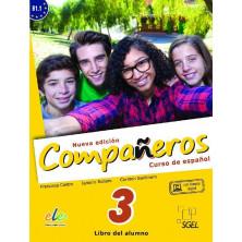Compañeros 3 (nueva edición) - Libro del alumno + Licencia digital - Ed. Sgel