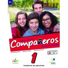Compañeros 1 (nueva edición) - Cuaderno de ejercicios + Licencia digital - Ed. Sgel