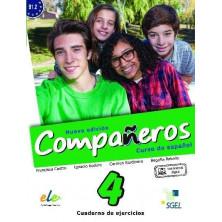 Compañeros 4 (nueva edición) - Cuaderno de ejercicios + Licencia digital - Ed. Sgel