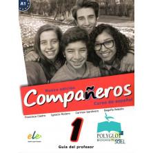 Compañeros 1 (nueva edición) - Guía didáctica - Ed. Sgel