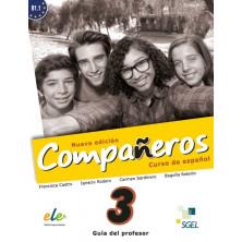 Compañeros 3 (nueva edición) - Guía didáctica - Ed. Sgel