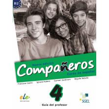 Compañeros 4 (nueva edición) - Guía didáctica - Ed. Sgel