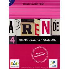 Aprende gramática y vocabulario 4 - Ed. Sgel