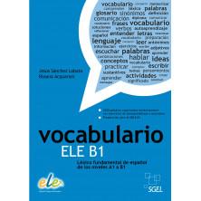 Vocabulario activo e ilustrado - Ed. Sgel