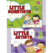 Pack Little Artists & Little Scientists Starter - Ed Oxford