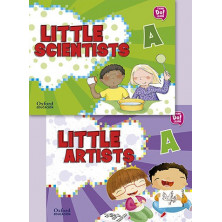 Pack Little Artists & Little Scientists A - Ed Oxford