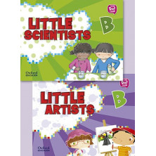 Pack Little Artists & Little Scientists B - Ed Oxford