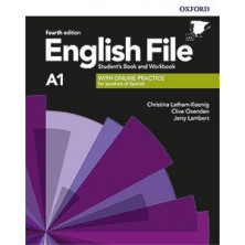 English File 4rd ed A1 Student's book + Workbook with key pack - Ed. Oxford