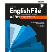 English File 4rd ed A2/B1.1 Student's book + Workbook with key pack - Ed. Oxford