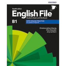 English File 4rd ed B1/B2.1 Student's book + Workbook with key pack - Ed. Oxford