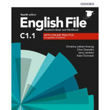 English File 4rd ed C1.1 Student's book + Workbook with key pack - Ed. Oxford