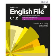 English File 4rd ed C1.2 Student's book + Workbook with key pack - Ed. Oxford
